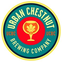 Dynamic and colorful logo for Urban Chestnut Brewing Company, designed by Marketing28. #z3