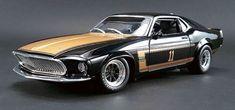 ACME/GMP 1/18 BOSS Ford Mustang #11 Trans Am 1969 Smokey Yunick #GMP