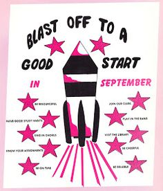 Papergreat: Back-to-school week kicks off with vintage bulletin boards