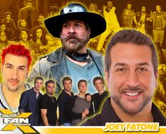 *PIN to WIN* Meet Joey Fatone at #FANX16! *NSYNC member, host, and #Dead7 co-star! Photo Ops on sale now. #utah