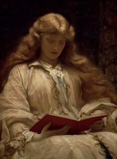 Frederic Leighton | The maid with the golden hair