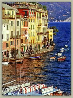 Portofino, Liguria, Italy. Our tips for 25 places to visit in Italy: http://www.europealacarte.co.uk/blog/2012/01/12/what-to-do-in-italy/