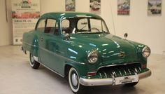1953 Opel Olympia Rekord – first model year. The car has been featured in the Danish TV-show Krøniken. https://www.youtube.com/watch?v=0uAlXE1MSkw - K181