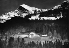 Hitler's Berghof and the surrounding area.