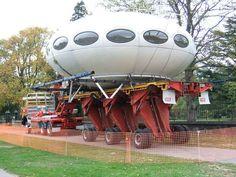 Futuro In Transit, Christchurch, New Zealand