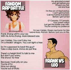 Fandom Rap Battle: Leo vs Frank. Who won?