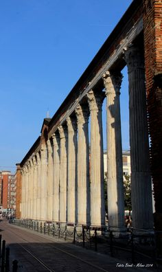 Porta Ticinese -Milano, Italy- Colonne di San Lorenzo by Tabita Biondi on 500px