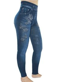 5f2c1eea48 Encuentra Leggins Tipo Jean Tela Gruesa Pantalon Jeans - Ropa