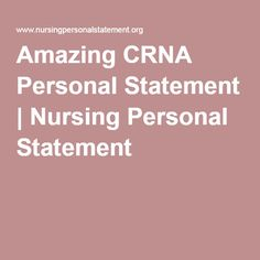 starting a personal statement for nursing