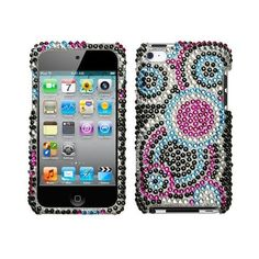 Mybat Apple Ipod Touch 4g Diamante Protector Cover - Bubble ($1.80) ❤ liked on Polyvore