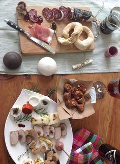 Απάκι, τυρί, λουκάνικο, προσούτο κ.α.