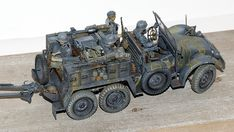 """Deutsche Krupp Protze """"Kfz.69"""" Armored Vehicles, Cannon, Scale Models, Dreaming Of You, Modeling, Monster Trucks, German, Military, World"""