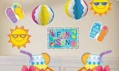 Fun In The Sun Giant Party Decorations Kit