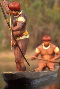 Indigenous People fishing - by Brazil Photos Stock Agency by Eva0707