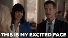 Trending GIF finale sarcasm sarcastic hallmark channel goodies good witch season four catherine bell james denton cassie nightingale sam radford this is my excited face Witch Gif, James Denton, Excited Face, Catherine Bell, Hallmark Channel, Cassie, New Trends, Movies And Tv Shows, Sarcasm