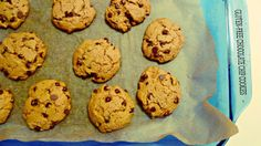 Gluten-free and light chocolate chip cookies. They taste a little like President's Choice The Decadent cookies only they are much healthier.