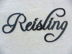 Riesling Wine Word Black Metal Wall Art Home Decor, http://www.amazon.com/dp/B005LA9WGM/ref=cm_sw_r_pi_awd_1Um4rb1SR9GHD