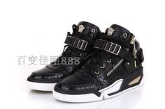 Medusa logo Versace shoes High top Men 70%off