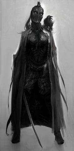 assassin by Sergey-Lesiuk
