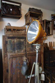 Vintage film lamp