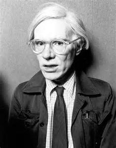 Image result for photos of Andy Warhol