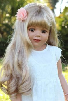 "Masterpiece Dolls Cherie Blonde  35"" Vinyl"