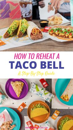 Want to know how to reheat Taco Bell properly? We provide a step-by-step guide to help you reheat Tacos and Burritos from the popular fast food eatery. Tacos And Burritos, Step Guide, Sweet Treats, Favorite Recipes, Popular, Ethnic Recipes, Food, Sweets, Most Popular