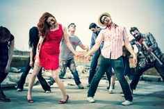 Zombie Engagement Photo Shoot!!!    Photography by Catwalk Wedding assisted by Odin Raven  H by Elbie van Eeden