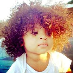 I can't! This baby is just perfect from the hair to the face :)