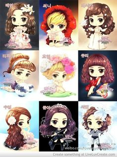 The Boys Snsd Chibi