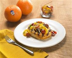Guests and family alike with love this dish. Pork Chops with Sunkist Orange & Grape Salsa will be enjoyed by all. The salsa with oranges and grapes brings this dish to a new dimension! @Sunkist