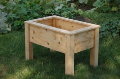 Planter Box Large with Legs by WeAreCityFARM on Etsy
