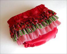 Christmas Diaper Cover