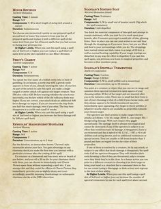 critical role spell list 4