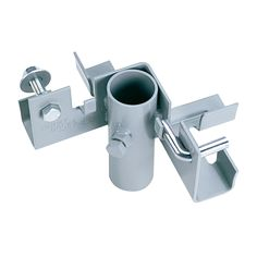 """Joins two dock sections together at a right angle. Stainless Steel,  adjusting bolt and hexnut.  Heavy Duty.Inside dimensions for the pipe are 2.02""""  Product Number:TD-10002"""