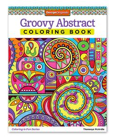 Take a look at this Groovy Abstract Coloring Book today!