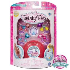 Shop Twisty Petz Unicorns/Pandas Collectible Jewelry Set Styles May Vary at Best Buy. Toys For Girls, Kids Toys, Toys R Us Canada, Baby Makes, Twin Babies, Jewelry Case, Cool Toys, Bracelet Set, Jewelry Collection