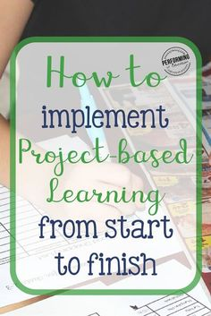 Learn how to implement Project-based Learning from start to finish! Problem Based Learning, Inquiry Based Learning, Cooperative Learning, Project Based Learning, Early Learning, Learning How To Learn, Assessment For Learning, Instructional Strategies, Teaching Strategies