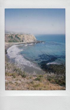 Sacred Cove in California. Shot with a Fuji Instax Mini 8. #california #cali
