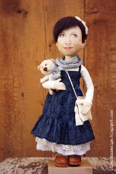 Стрекоза в полёте: Образ куклы. Как я это делаю.