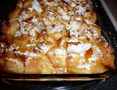 French Toast Souffle. I made this yesterday. Whoa mama!!  It. Is. So. Good.