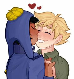 color practice by MissPolycystic on DeviantArt Tweek South Park, South Park Fanart, Wattpad, Cute Couples, Anime, Fan Art, Color, Drawing Reference, Infinite