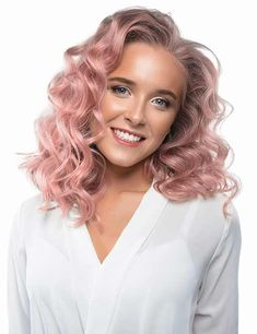 schulterlange haar 30 Beautiful Hairstyles For Shoulder Length Hair Colored Curly Hair, Short Curly Hair, Work Hairstyles, Straight Hairstyles, Hair Color Dark, Dark Hair, Medium Hair Styles, Curly Hair Styles, Styling Gel
