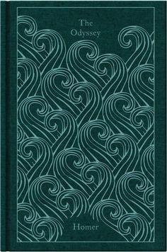 The Odyssey (A Penguin Classics Hardcover) Penguin Books Peter Jones, Penguin Clothbound Classics, Penguin Classics, Book Cover Design, Book Design, Trojan War, Vintage Book Covers, Beautiful Book Covers, Penguin Books