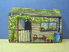 The Old Shed by jamjarart on Etsy by Joy Williams