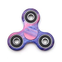 Yeahbeer Hand Fidget Spinner Toy Stress Reducer and Perfect For ADD, ADHD ,Finger Toy fidget work Ultra Fast Bearings (New starry sky)
