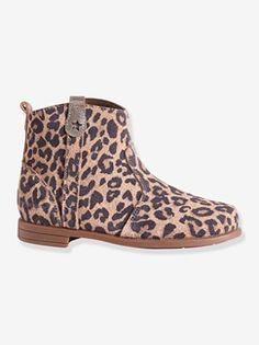 Boots fille en cuir suédé  - Collection Automne-Hiver 2016 - www.vertbaudet.com