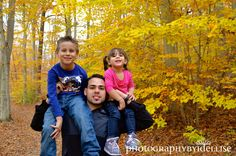 Father & Kids Fall Session