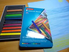 How to use Inktense blocks to paint on fabric