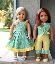 Sewing for American Girl Dolls Need to come up with some cute stuff other than Carter's preemie clothes.......